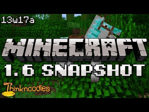 Minecraft 13w17a Snapshot: Name Tags, Raining Zombies, Hardened Clay