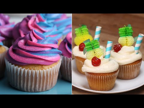 Cupcake Recipes To Impress Your Crafty Friends • Tasty