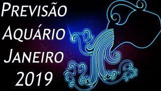 AQUÁRIO - Previsão Mensal Janeiro 2019