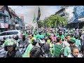 Aksi Bonek Di Car Free Day Surabaya HD