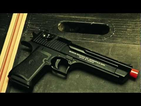 Imi 50ae desert eagle magnum co2 blowback pistol kwc airsoft