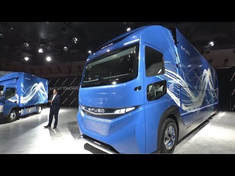 FUSO | Unveiling of E-FUSO brand and Vision ONE all-electric truck - Tokyo Motor Show 2017 (Full)