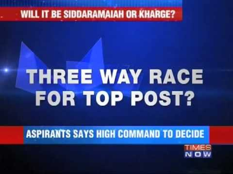 Three-way race for Karnataka's top post?
