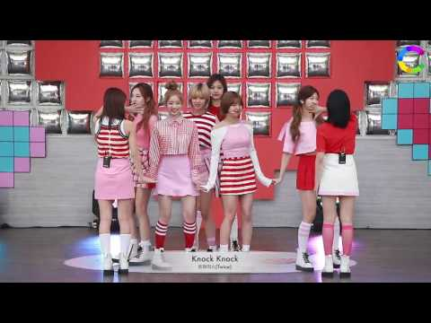 [HD 720p] 170505 TWICE - KNOCK KNOCK @ MBC '2017 New Life For Children'