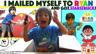 I MAILED MYSELF TO RYAN TOYS REVIEW Franco goes to Ryans House with Surprise Toys
