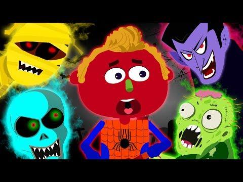 Haunted Town | Halloween It's Halloween Song | Original Song | Scary Nursery Rhymes Spooky Songs