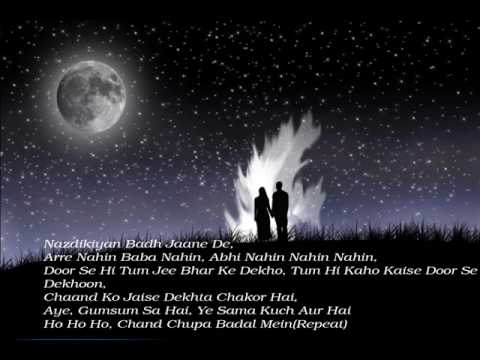Chand Chupa (hum Dil De Chuke Sanam) Full Song With Lyrics Hq video