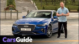 Genesis G70 2018 review: first drive video