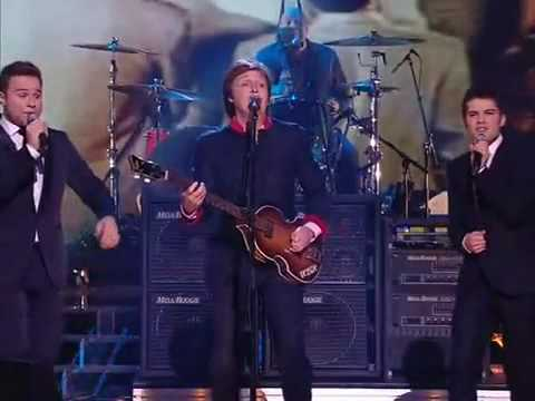 Paul McCartney X Factor Finals 2009