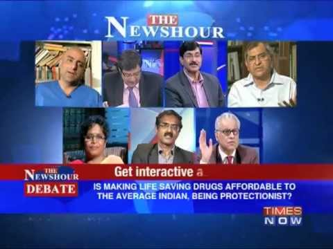 The Newshour Debate: Cancer Drug Patent V/S Cancer Patient (Part 3 of 3)
