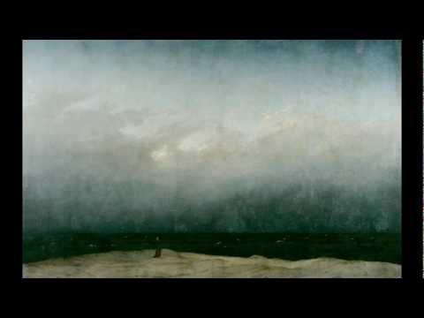 Caspar David Friedrich, Monk by the Sea, 1808 or 1810
