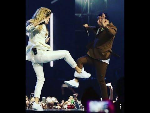 Вера Брежнева & MONATIK - Любовь спасёт мир / Кружит (M1 Music Awards)