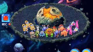 My singing monsters dawn of fire all songs