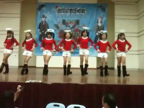 Kickick Line Dance Christmas Performance video