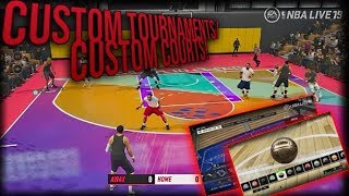 NBA Live 19 Will Support Custom Tournaments & More With One Custom Court Tool!