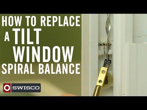 Vinyl Replacement Window Repair Balance System Repair