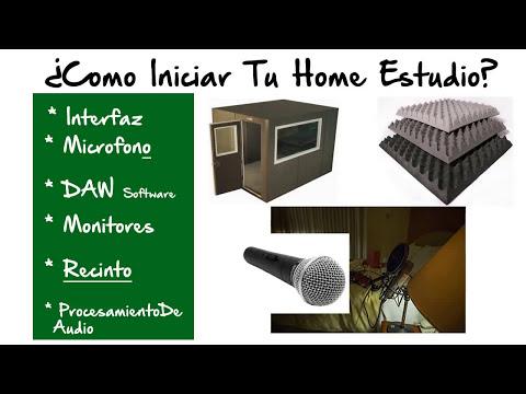 Como Montar Un Estudio De Grabacion Casero  / Home Studio