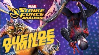 Marvel Strike Force (M.S.F) Analisis: Miles Morales y Duende Verde