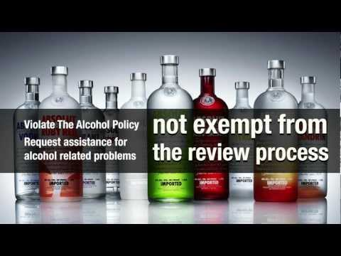 Alcohol Beverages Policy