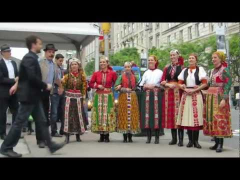 hungarian flash mob in nyc