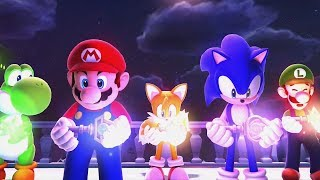 Mario & Sonic at the Sochi 2014 Olympic Winter Games: Legends Showdown Complete Walkthrough