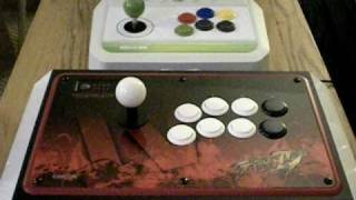 MadCatz limited edition Street Fighter arcade fighting stick