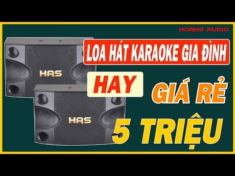 TOP 1 - Dòng loa hát karaoke gia đình hay giá rẻ tầm 5 triệu - Hoàng Audio
