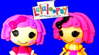 Mini Lalaloopsy Crumb's Tea Party and Pillow's Sleepover Party Playset Unboxing and Toy Review