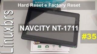 Navcity NT-1711 - Hard reset - Formatando o tablet - PT-BR - Brasil