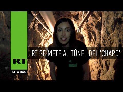 Mirá el túnel por el cual se escapó el Chapo Guzmán