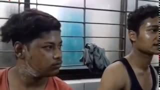 Bus fired by Bangladesh Chatrolig activists | Poriborton | ছাত্রলীগ কর্মীর বয়ানে বাসে আগুন