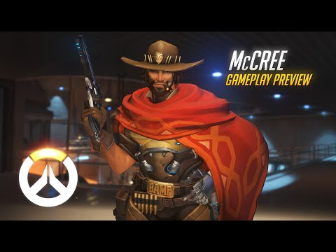 McCree Gameplay Preview   Overwatch   1080p HD, 60 FPS