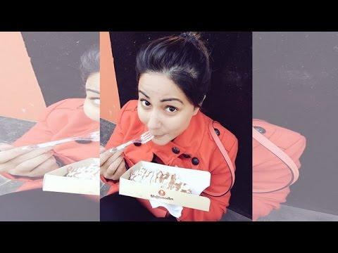 Hina Khan Celebrates Her New Year In UK | #TellyTalkIndia