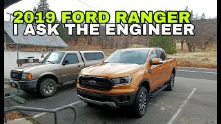 2019 Ford Ranger Driving with a Ford Engineer!