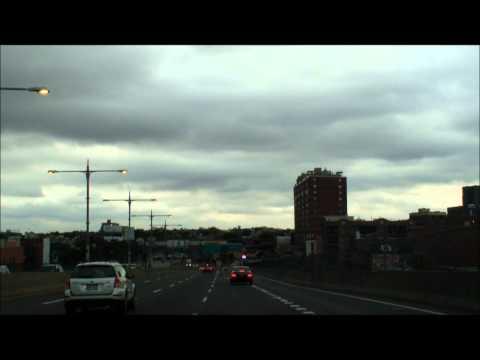 Crossing the Triborough Bridge New York City