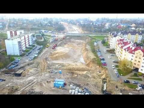 Aleja Niepodległości-Białystok Cz.I (Leśna Dolina-Zielone Wzgórza) - Inspekcja Dronem
