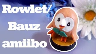 ROWLET / BAUZ AMIIBO (Custom Amiibo Making-Of)