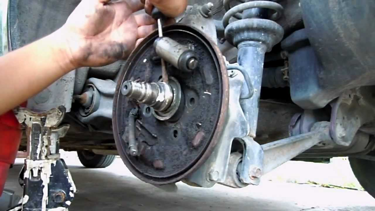 Honda Civic Wheel Hub Replacement Youtube