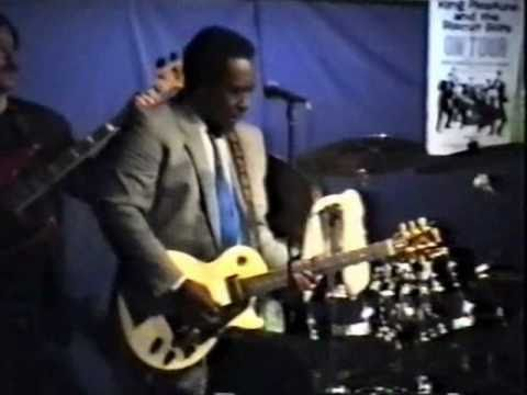 Blues master Johnny Copeland live in Holland
