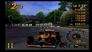 Gran Turismo 3 Playthrough Part 101! Race 9 in the Formula 1 GT Championship! Tokyo R 246! Funny!
