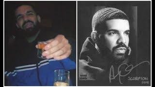 Drake Celebrates Going 55X Platinum After Scorpion Album Charts Billboard