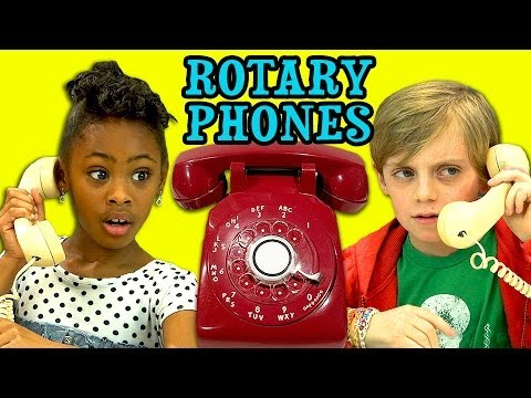 Kids React To Rotary Phones video