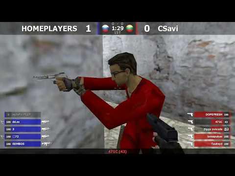 Полуфинал турнира по CS 1.6 от проекта Вспомнить всё [CSavi -vs- HOMEPLAYERS] @ by kn1fe