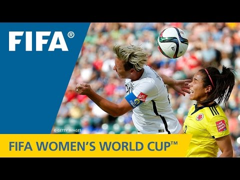 HIGHLIGHTS: USA v. Colombia - FIFA Women's World Cup 2015
