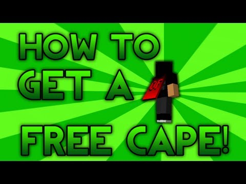 How To Get A Free Minecraft Cape 1.8 (READ DESCRIPTION)
