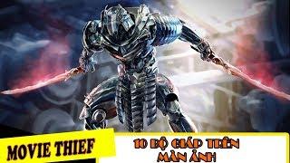 [TỔNG HỢP] Top 10 Bộ Giáp Chiến Binh Mạnh Mẽ Uy Lực Nhất Màn Ảnh| Best Robot Suit