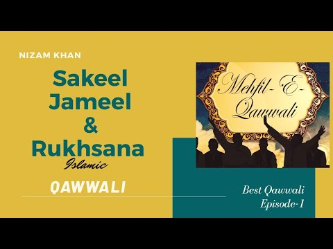 Qawwali 3 Jun 2011 Jameel Sakeel & Rukhsana Part 01 video