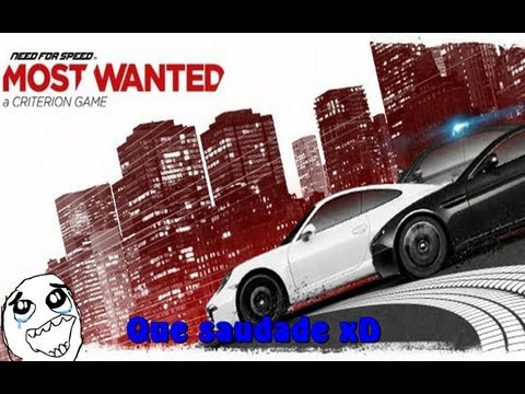 Need for Speed Most wanted - Lebrando os velhos tempos