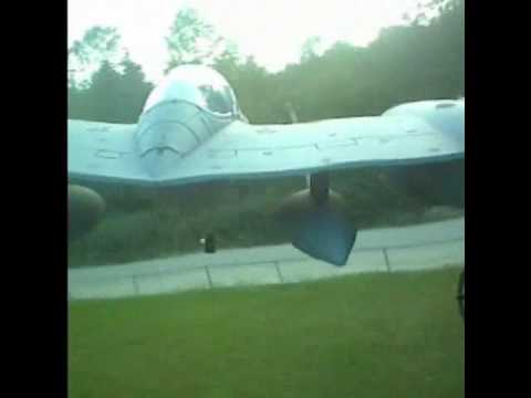 E FLITE P-38 LIGHTNING CRASH!