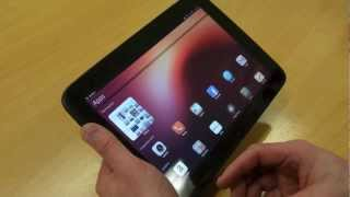Ubuntu for tablets hands-on